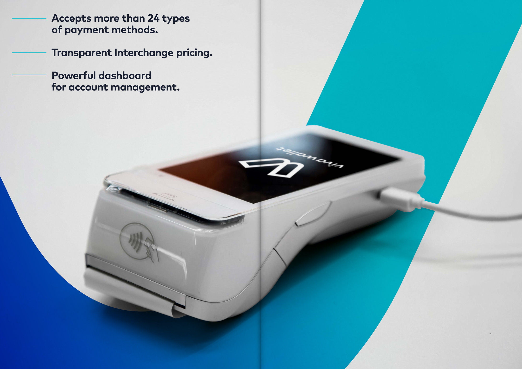 Viva Wallet rebranding a global fitech payments Insitution Athens London Brussels Amsterdam Paris POS terminal