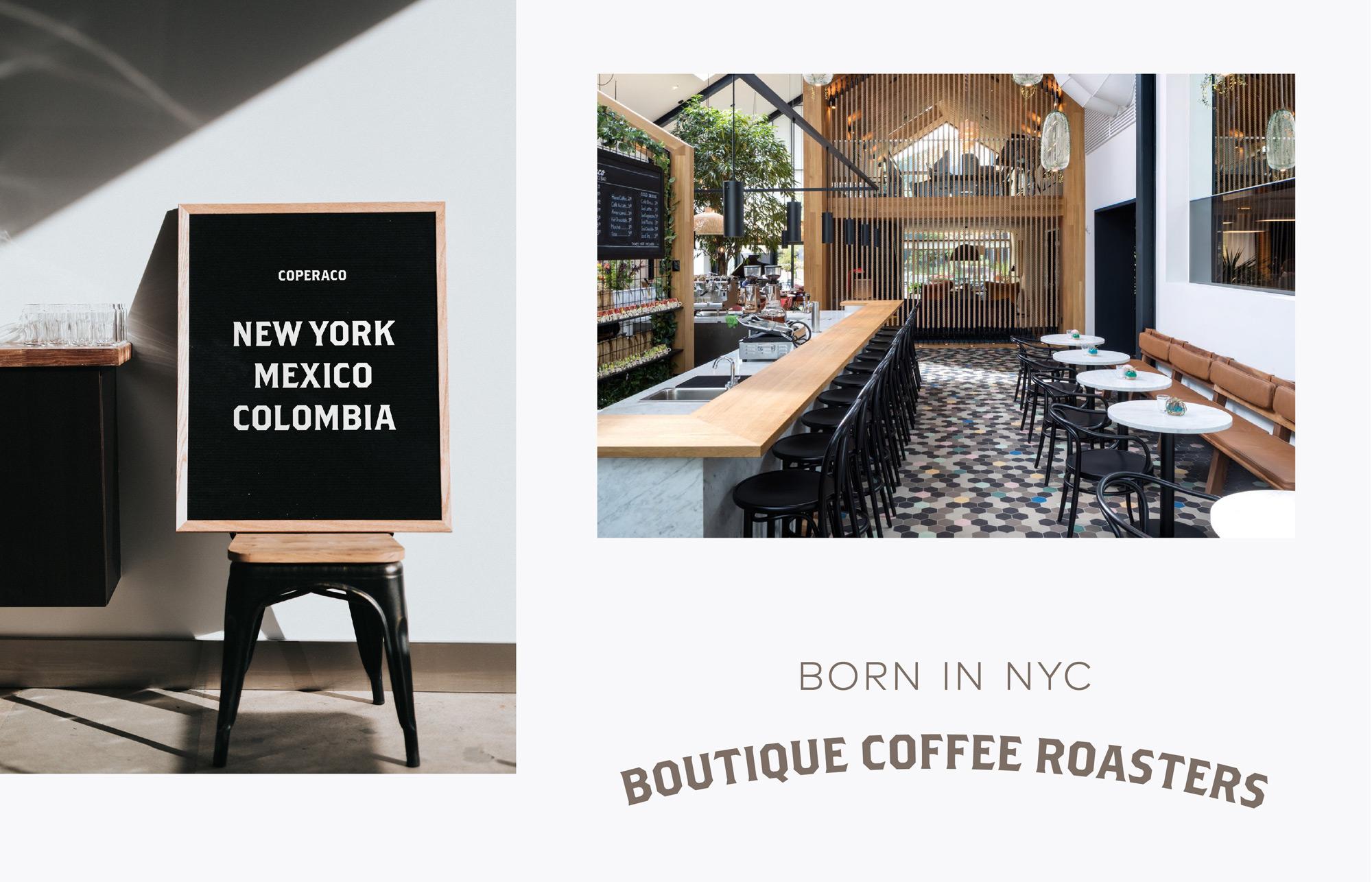 Coperaco Coffee New York – AG Design Agency