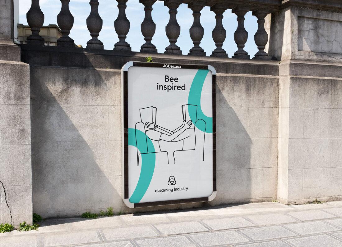 AG Design Agency Poster - Branding Case Study